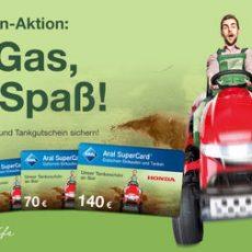 Honda Rasenmäher kaufen – Tankfüllung gratis! Verlängert bis 30.06.19!